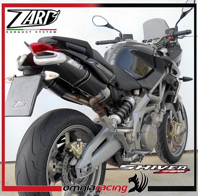 zard carbon racing aprilia shiver 750 gt 2007 exhausts. Black Bedroom Furniture Sets. Home Design Ideas