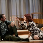 Marjorie (Leslie Lyles) and Daniel (Bruce McKenzie) have a tempestuous marriage in the Huntington Theatre Company's production of