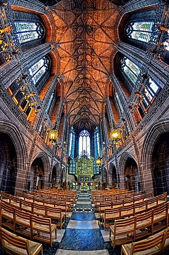 Anglican Cathedral Interior (1),Liverpool