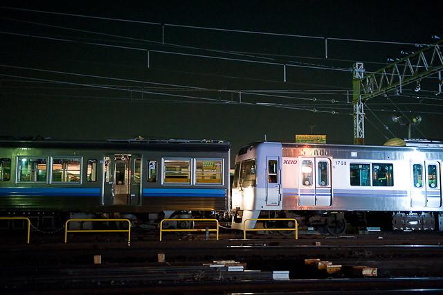 京王電鉄井の頭線 3000系 3028F デハ3128-デハ3078廃車回送