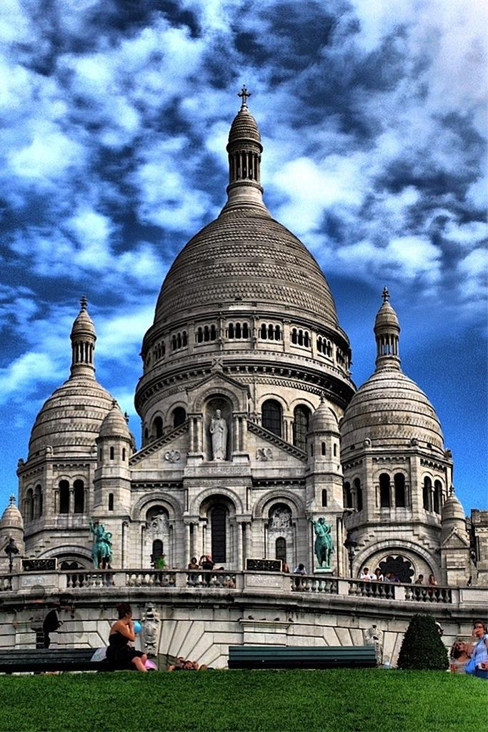 Basílica del Sacré Cœur en Montmartre