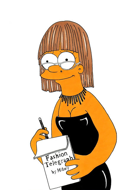 Marge Simpson Loves Hilary Alexander