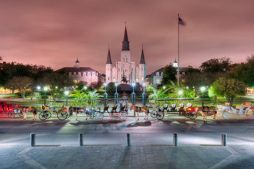 Jackson Square - St. Louis Cathedral