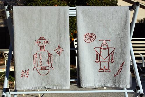 Robot Towels