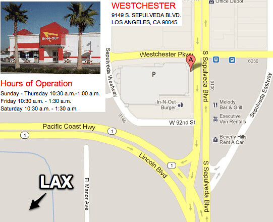 How to get an In-N-Out Burger at LAX - Triangle Trip In N Out Burger Locations Map on arby's location map, bojangles location map, chipotle location map, el pollo loco location map, krispy kreme location map, subway location map, petco location map, in and out burger franchise map, ihop location map, bed bath and beyond location map, hardee's carl's jr map, mcdonald's location map, burger king locations map, dave and busters location map, in n out locations california, del taco location map, whataburger location map, in and out locations map, jack in the box location map, sizzler location map,