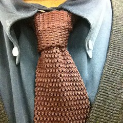 This is the necktie I wore today. Knot: Four-in-hand. http://instagr.am/p/lpJbw/