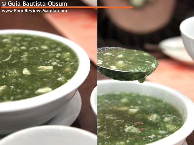 Flavors of China Spinach Soup