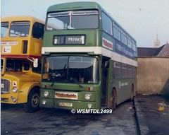 AN170  XPK 170T  Leyland Atlantean Park Royal. Alder Valley  Kevavon Drive Depot READING