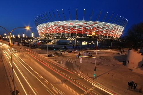 Poland, National Stadium in Warsaw / Warszawa, Stadion Narodowy