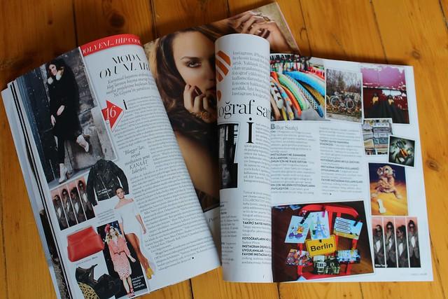 harper's bazaar, marie claire, kış, kar, şubat dergileri, basında off ne giysem