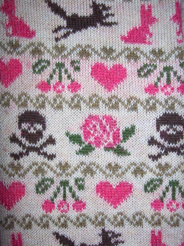 DKNY sweater sleeve