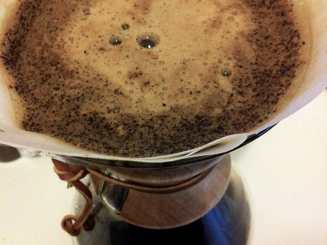 Java Blawan von »Five Elephant Coffee« in der Chemex