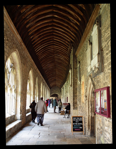 Cloister, Chichester Cathedral