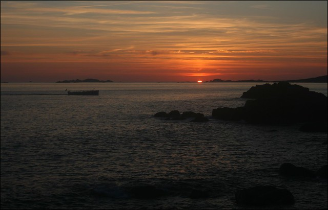 Sunset from the Garrison, St Marys, Isles of Scilly