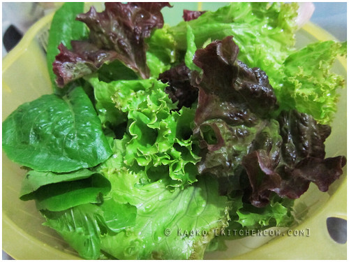 Refreshing your Salad Greens