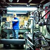 The bike shop in my basement.