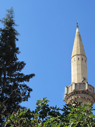Balikesir: top of a minaret