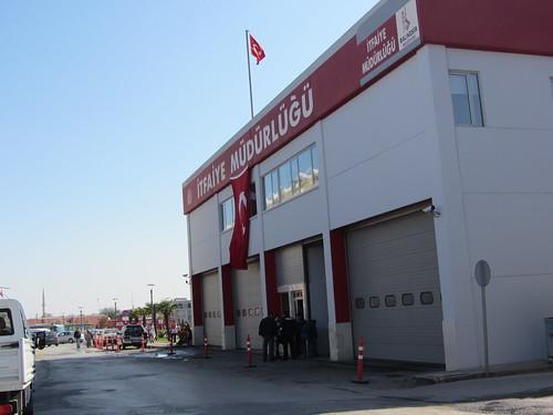 Balikesir: fire station