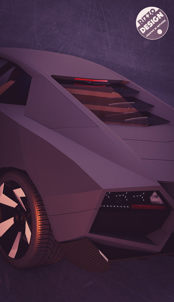 How To Start A Car With A Bad Starter >> Low poly Lamborghini Reventon | SMCars.Net - Car ...
