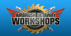Airbrush Action WORKSHOPS Logo