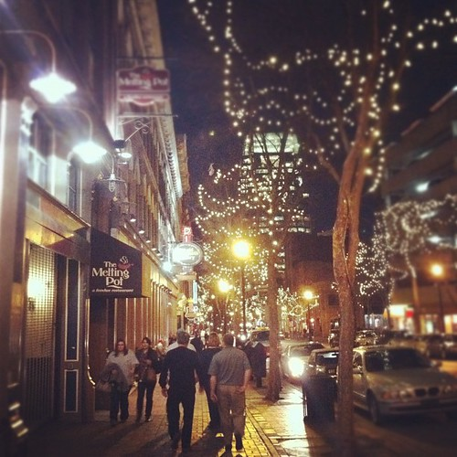 2nd Ave Nashville. Nothing like it at night.