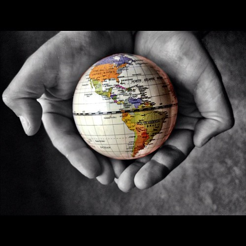 He's got the whole world in His hands. #instagram #febphotoaday #hands #all_shots #jj #instadaily #retouching #photoart #instagood #world #God #Earth #iphone4s
