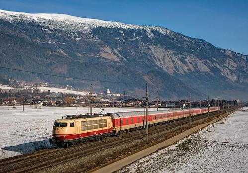railroad alps tirol railway trains bahn alpi mau pollux ferrovia treni br103 nikond90 cnl1319