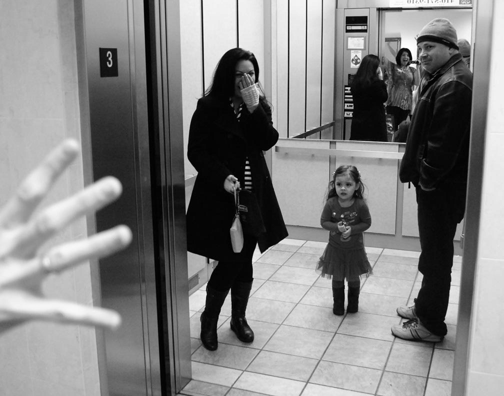 elevator surprise!