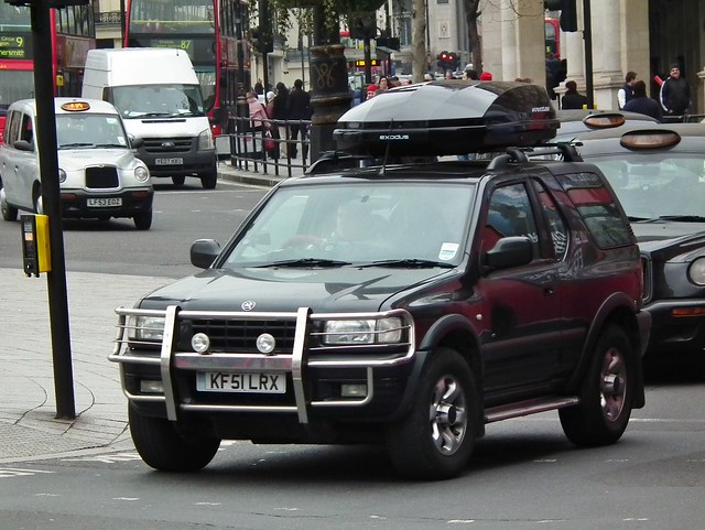 vauxhall frontera sport rs 2001 vauxhall frontera sport rs flickr photo sharing. Black Bedroom Furniture Sets. Home Design Ideas