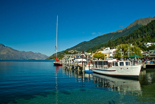 On a Clear Day in Queenstown