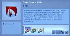 Suite Dreams Table