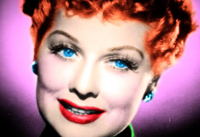 Movie Tv Star Lucille Ball Tv Shot Flickr Photo Sharing
