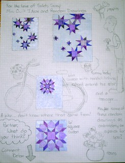 FTLOS Mini Quilt Ideas and Random Drawings