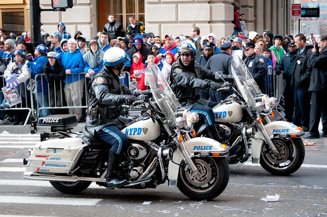 NYPD Motorcycle