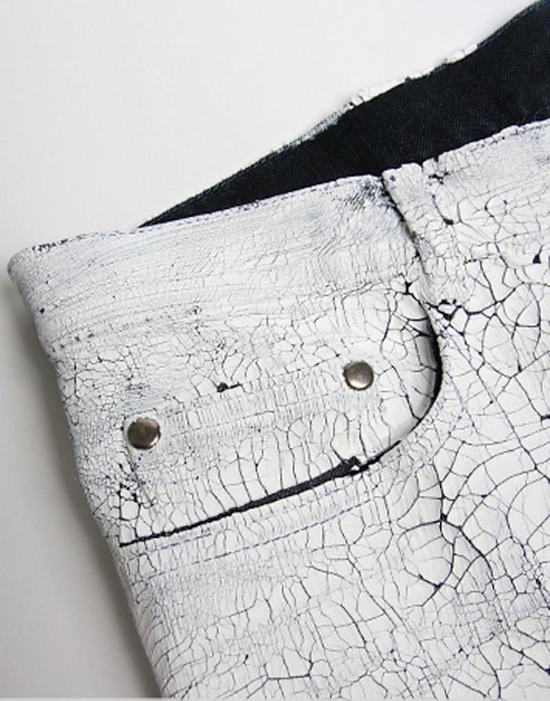 Maison Martin Margiela white paper jeans 9