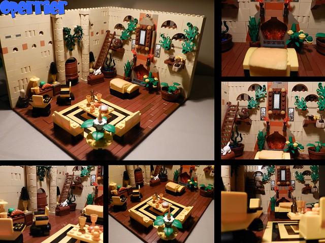 Hufflepuff Common Room MOC - LEGO Licensed - Eurobricks Forums
