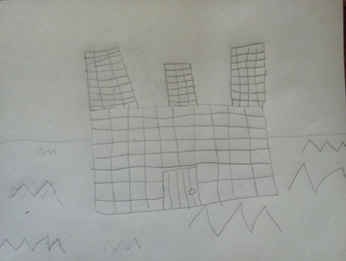 Zoe's Castle Sketch