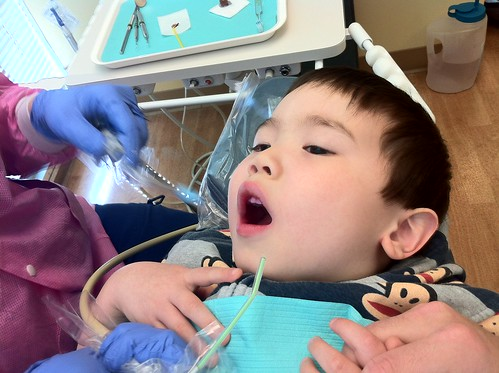 cleaning time @ dentist