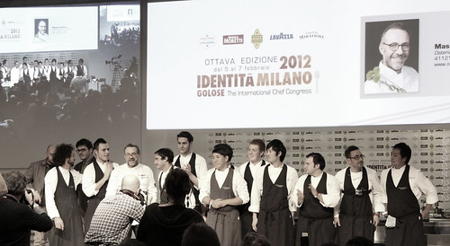 massimom bottura & young staff