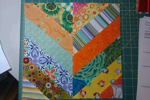 February 2012 Quilting Bee Block