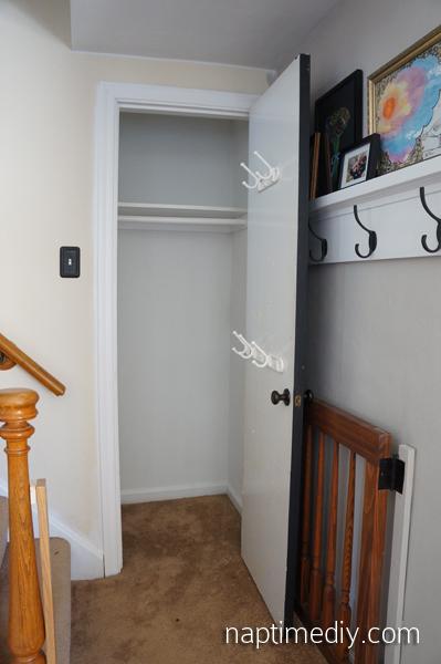 Coat Closet 2 (NaptimeDIY.com)