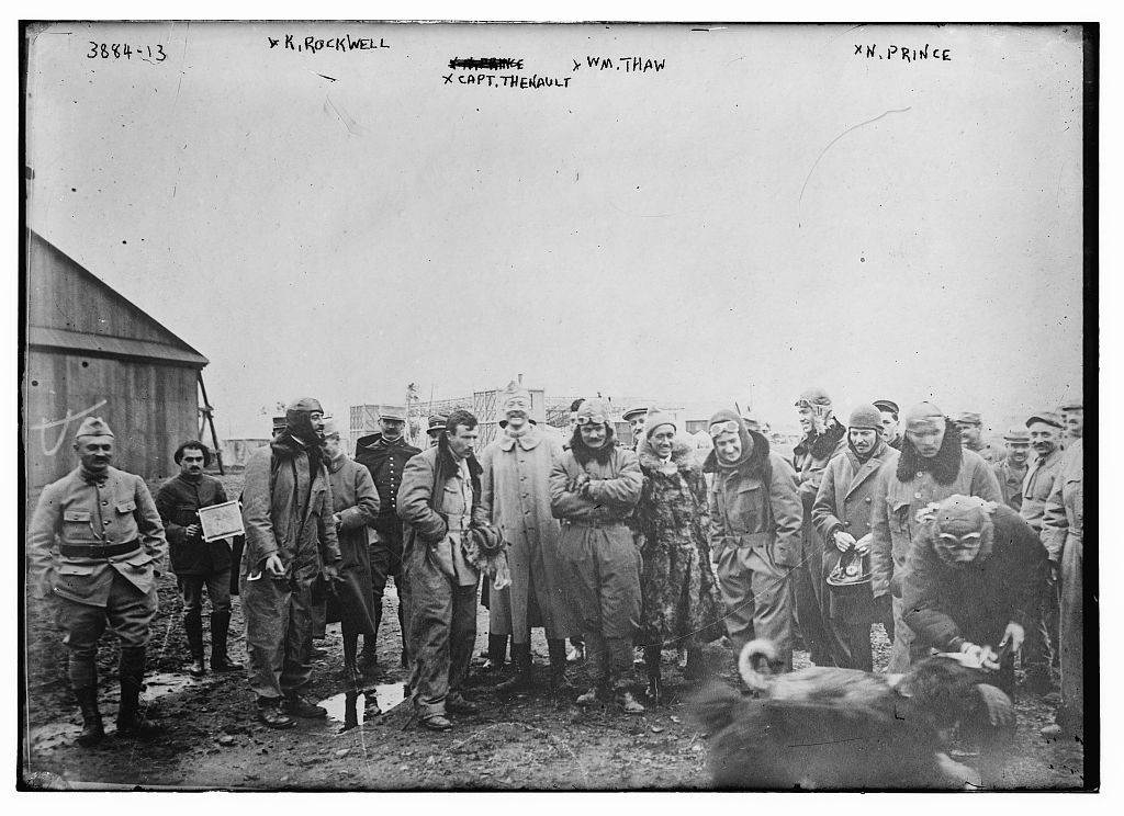 K. Rockwell, Capt. Thenault, Wm. Thaw, N. Prince (LOC)
