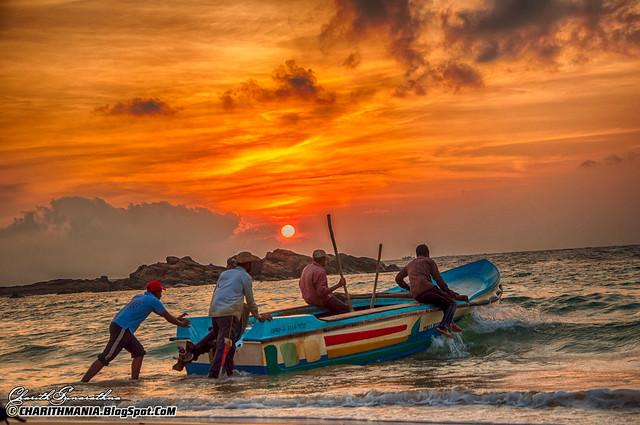 Spectacular Sunrise - Sri Lanka