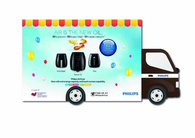 Phlips Airfryer Truck