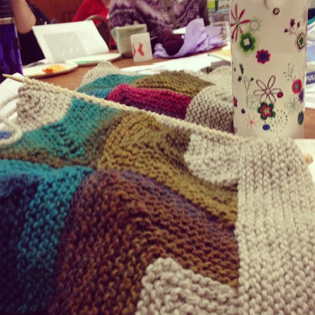 Had a blast at knitting guild last night #latergram