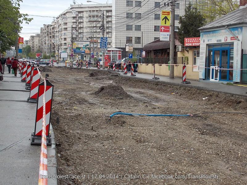 Traseul 101, etapa II: Intersecție Candiano Popescu ( zona BCR ) - Gara de Sud 13915735355_71bdb5ab34_c