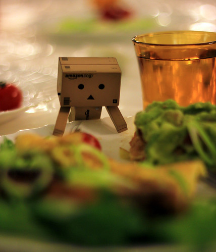 cooking with danbo