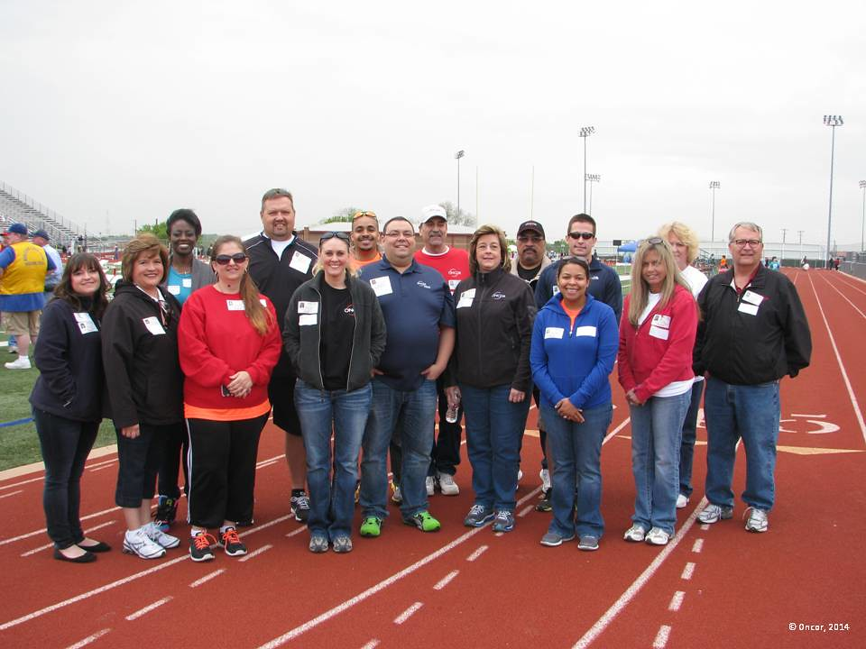 Burleson Spring Meet for Special Athletes