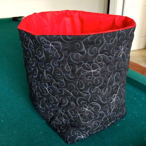 bag pre top stitching