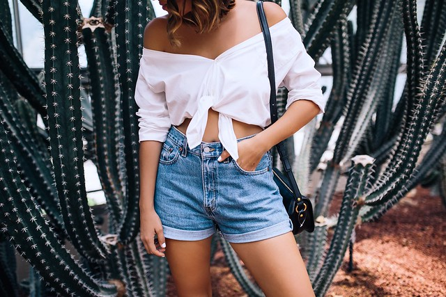Two minute off the shoulder top